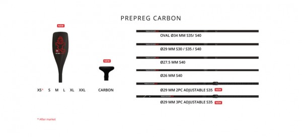 Starboard Lima Prepeg Carbon